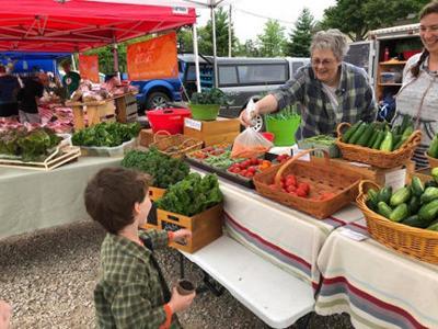 Itasca area farmers market