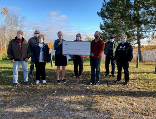 Buck Lake Improvement Club Receives Grant for Improving Kitchen Facilities
