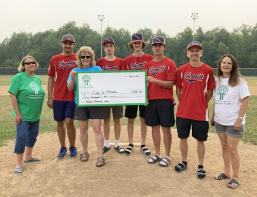 Greenway Area Community Fund Awards Grant to the City of Marble For Bleachers